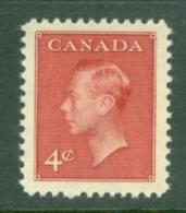 Canada: 1950   KGVI     SG427     4c       MNH - 1937-1952 Règne De George VI