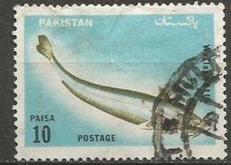 Pakistan - 1973 Catfish 10p Used    SG 353  Sc 348 - Pakistan