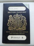 Passeport, Passport, Reisepass, Pasaporte Du Royaume Uni 1978 Visa Gambia. Port Gratuit En Europe. - Documents Historiques
