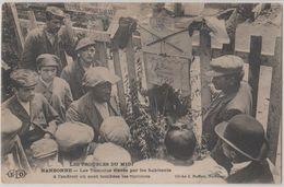11 Narbonne 1907 Manifestations Viticoles Tumulus élevé Là Ou Sont Tombés Les Victimes TB Animée éditeur ELD - Narbonne