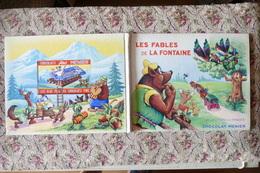 LES FABLES DE LA FONTAINE  COLLECTION DES IMAGES DU CHOCOLAT-MENIER   / H 36 - Books, Magazines, Comics