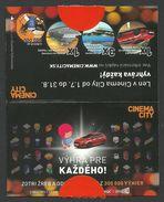 Slovakia, Bratislava, Cinema City Lottery Ticket - Lottery Tickets