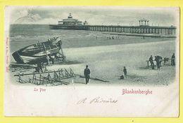* Blankenberge - Blankenberghe (Kust - Littoral) * (Stengel & Co, Dresde, Nr 5957) Le Pier, Rade, Jetée, Beach, Plage - Blankenberge