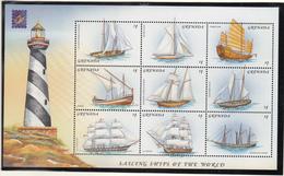 Grenada - Belgica 2001 - XX - Michel 4727/4735 - Cote 10.00 - Bateaux