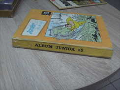 Tintin Du Pauvre : Reliure éditeur Junior N° 55 Année 1971 - Tintin