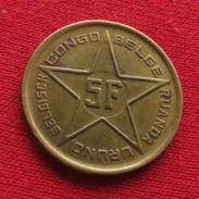 Congo Belgish 5 Francs 1952 Belgian - 1885-1909: Leopold II