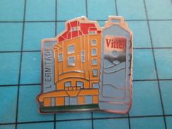 Pin611b Pin's Pins : Rare Et Belle Qualité BOISSONS / EAU MINERALE VITTEL L'ERMITAGE - Beverages
