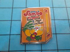 Pin611b Pin's Pins : Rare Et Belle Qualité BOISSONS / SAMBO TROPIC MOINS E CALORIE Et 0% DE FRUITS Je Suppose ? - Beverages