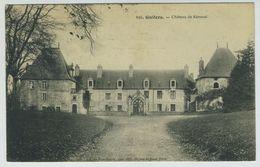 Carte Postale. Guilers. Château De Kéroual. - Francia