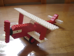 Rare Annees 1970 AVION Avec HELICE Plane LEGO Collector Vintage 70's - Lego System
