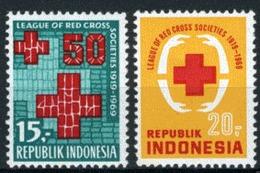Indonésie 1969 Nobel Red Cross Croix Rouge MNH - Nobel Prize Laureates