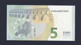 (BE030)  - 5 € - SPAIN - VA - DRAGHI - SC/UNC  (V004E2) - EURO