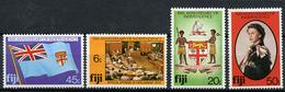 1980 - FIJI - Catg. Mi.  428/431 - NH - (R-SI.331.713 -  50) - Fiji (1970-...)