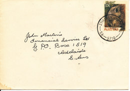 Australia Postal Stationery Cover Stirling North Rail 18-11-1987 (HAIRY-NOSED WOMBAT) - Entiers Postaux