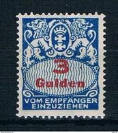 Danzig Michel Nr.: P 39 Postfrisch Mit Falz - Danzig