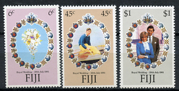 1981 - FIJI - Catg. Mi.  436/438 - NH - (R-SI.331.713 -  50) - Fiji (1970-...)