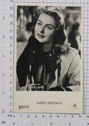 INGRID BERGMAN - Vintage PHOTO POSTCARD (223-H) - Actors
