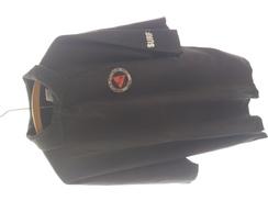 T-shirt Brésilien Noir DELEGACIA DE INVESTIGACOES GERAIS SANTOS DIG  (authentique) Taille ??  XL Déjà Servi Au Brésil - Police