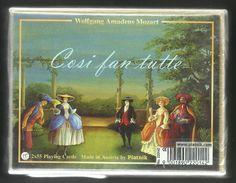 Playing Cards Mozart, Piatnik, Austria, New, Sealed, 2 Decks. - Playing Cards (classic)
