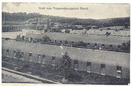 Cpa Gruss Vom Truppenübungsplatz Bitsch ( Camp Militaire, Tampon, Prisonniers ? ) - Allemagne