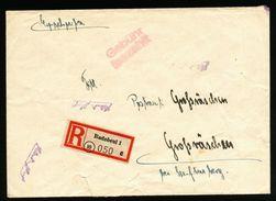 A4859) SBZ Lokalausgaben R-Brief Von Radebeul Nach Großräschen Mit Seltenem Stempel - Sowjetische Zone (SBZ)