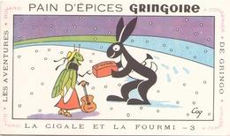France Buvard Pain D'épices Gringoire ( Pliure ) 17,5 X 10,5 Cm - Gingerbread