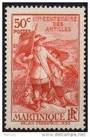 MARTINIQUE - 50 C. Tricentenaire Des Antilles Neuf LUXE - Unused Stamps