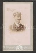 Photo-carte De Visite / CDV / W / Foto / Homme / Man / Marine (?) / Schipper (?) / Photo G. Raymaud / Antwerpen - Foto's