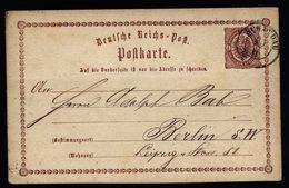 A4863) DR Ganzsache-Karte Von Schandau 25.11.73 Nach Berlin - Briefe U. Dokumente