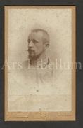 Photo-carte De Visite / CDV / W / Foto / Homme / Man / Missionaris / Pater (?) / Broeder / Photo Ch. Froehlich / Anvers - Anciennes (Av. 1900)