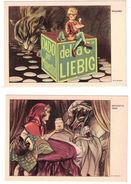 CARTOLINE SERIE FIABE  PUBBLICITARIE LIEBIG  COMPLETA - Pubblicitari