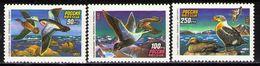Russia 1993 Wild Water Ducks Birds Bird Duck Fauna Animals Animal Nature Soviet Union Stamps Michel 320-322 Sc 6155-6157 - Environment & Climate Protection