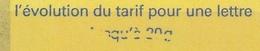 """3419 C3 TVP MARIANNE LUQUET RF - """"JUSQU'A 20g"""" PARTIEL - Libretti"""