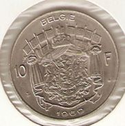 Moneda Bélgica. 10 Francos 1969. MBC - 1951-1993: Baudouin I