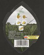 # PINEAPPLE DULCISSIMA Size 7 Type 1 Fruit Tag Balise Etiqueta Anhanger Ananas Pina Costa Rica - Fruits & Vegetables