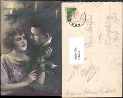 411694,Paar Liebe Verliebter Blick Weihnachtsbaum Christbaum Weihnachten Pub RPH 4568 - Paare