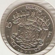 Moneda Bélgica. 10 Francos 1971. MBC. Ref. 4-belg10f-71 - 06. 10 Francos