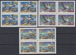 Russia 1993 Block Wild Water Ducks Birds Bird Duck Fauna Animals Animal Nature Soviet Stamps Michel 320-322 Sc 6155-6157 - Environment & Climate Protection