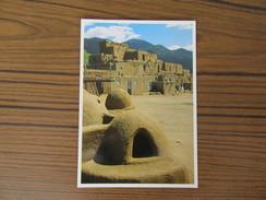 USA      Mexique                             Taos Pueblo  New Mexico               Maisons Mexicaines - Etats-Unis