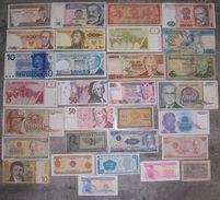 LOT De 30 BILLETS Du MONDE - N° 8 (voir Scan) - Lots & Kiloware - Banknotes