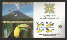 # PINEAPPLE ROSWITHA TYPE 3 Fruit Tag Balise Etiqueta Anhanger Ananas Pina Costa Rica Tucano Tucan Toucan Vulcan - Fruits & Vegetables