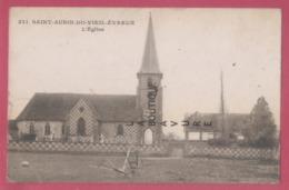 27 - SAINT AUBIN DU VIEIL EVREUX----L'Eglise - Francia