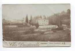 CLOS DAUTTEVILLE PROPRIETAIRE FRED LADRAT PRES PONT ST ESPRIT  CARTE PHOTO A BOSQUET LEGION HONNEUR ST DENIS - Pont-Saint-Esprit