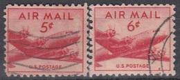 UNITED STATES 552-553,used - Estados Unidos