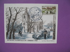 Carte-Maximum  N° 1151 Journée Du Timbre  1958  Paris - Maximum Cards