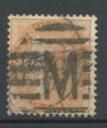 INDE ANGLAISE (GB) - VITORIA - N° Yt 22 Obli. - India (...-1947)