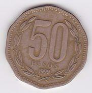 Pièce 50 Pesos Chili 1999 - Chile