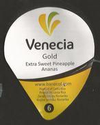 # PINEAPPLE VENECIA GOLD Type 1 Size 6 Fruit Tag Balise Etiqueta Anhanger Ananas Pina Costa Rica - Fruits & Vegetables
