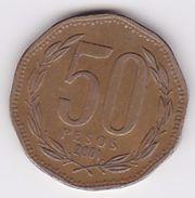 Pièce 50 Pesos Chili 2001 - Chili