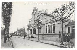 Cpa: 91 CORBEIL (ar. Evry) L'Hôtel Des Postes (animée) 1916 N° 27 - Corbeil Essonnes